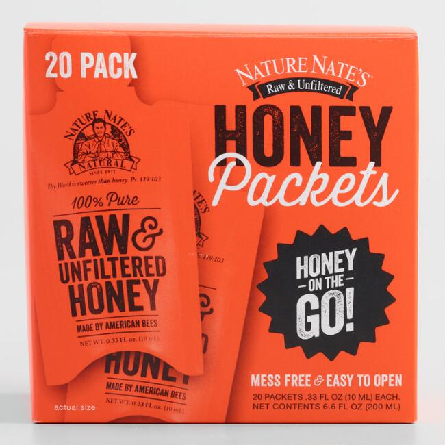 Nature Nate's Honey Packs 20 Count