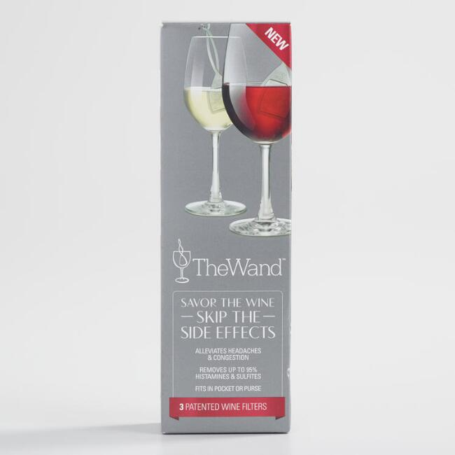 The Wine Wand Wine Filter Set of 3