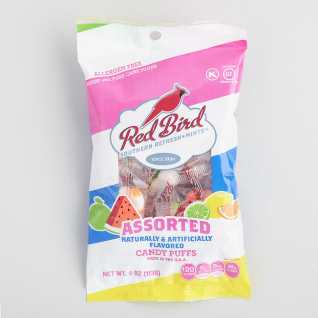 Red Bird Assorted Puff Candy