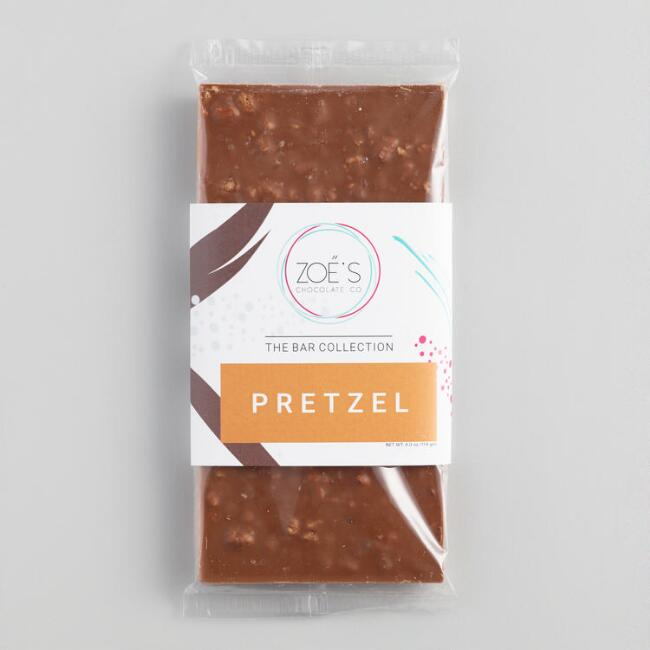 Zoe's Sea Salt Pretzel Milk Chocolate Bar
