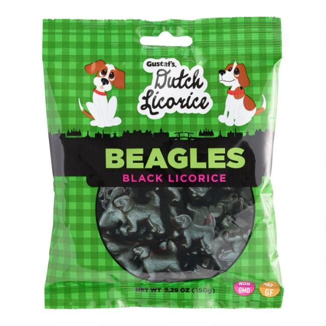 Gustaf's Dutch Licorice Beagles