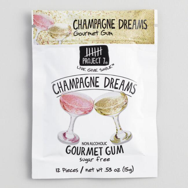 Project 7 Champagne Dreams Chewing Gum