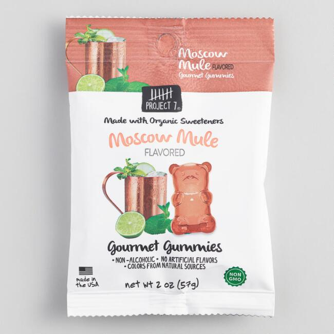 Project 7 Moscow Mule Gummy Candy