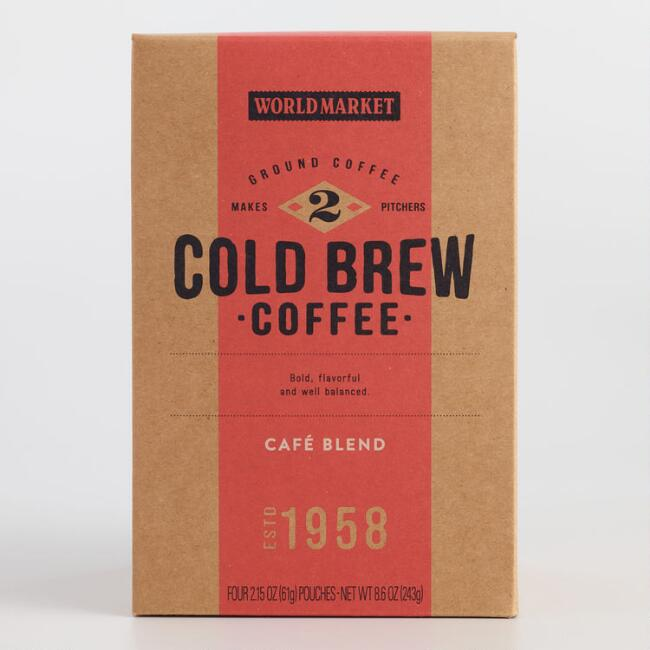 World Market® Cafe Blend Cold Brew Coffee Pouches