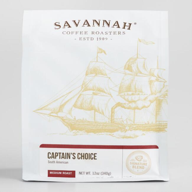 Savannah Captain's Choice Whole Bean Coffee