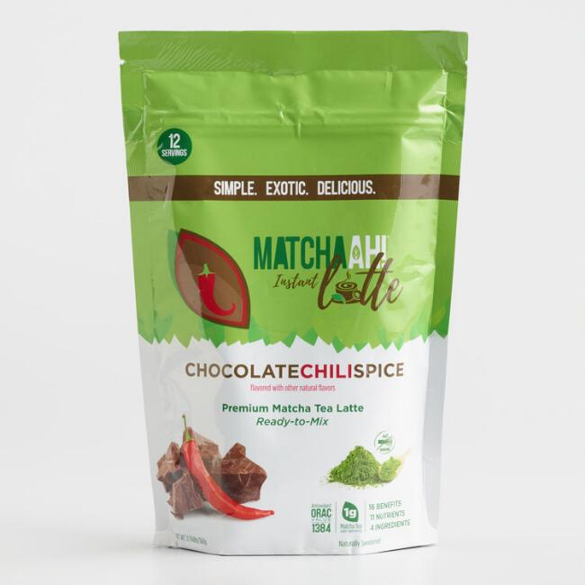 Matchaah Chocolate Chili Matcha Green Tea Latte Mix