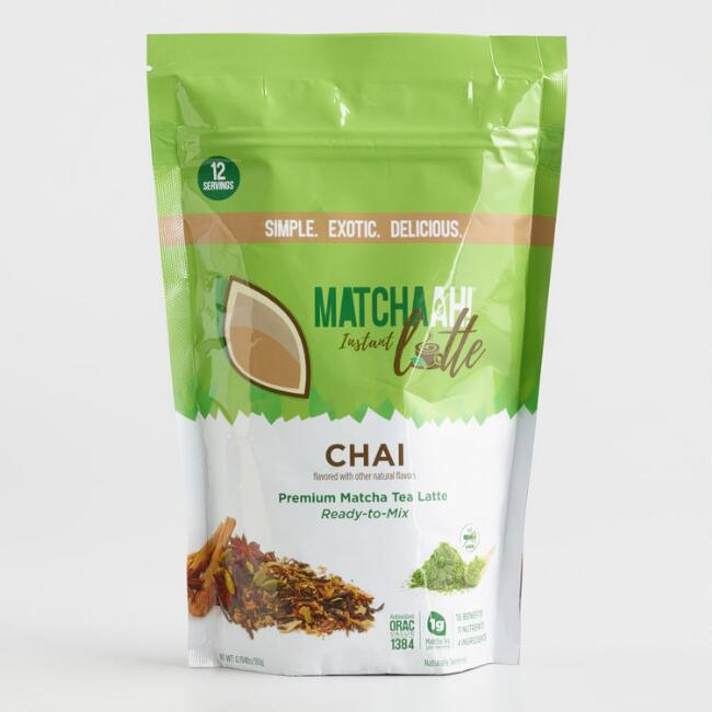 Matchaah Chai Matcha Tea Latte Mix