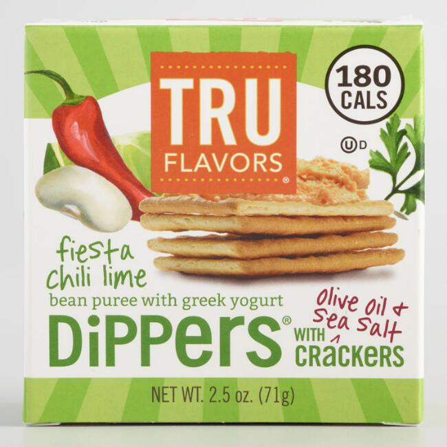 Truitt Fiesta Chili Lime Bean Dip and Crackers Snack Pack
