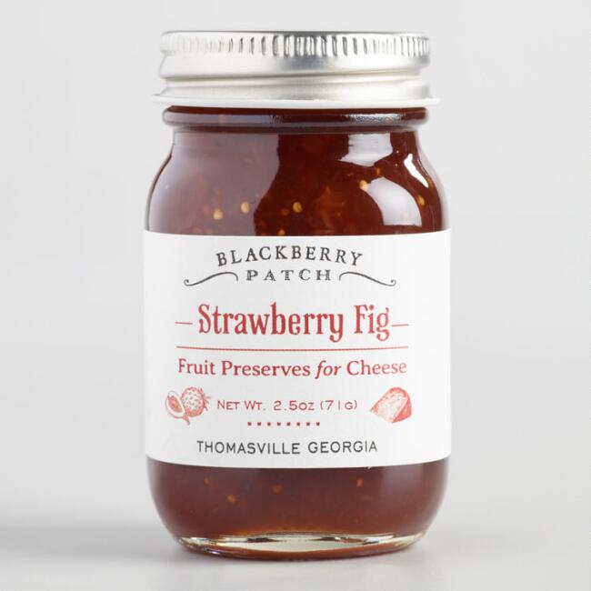 Blackberry Patch Mini Strawberry Fig Fruit Preserve