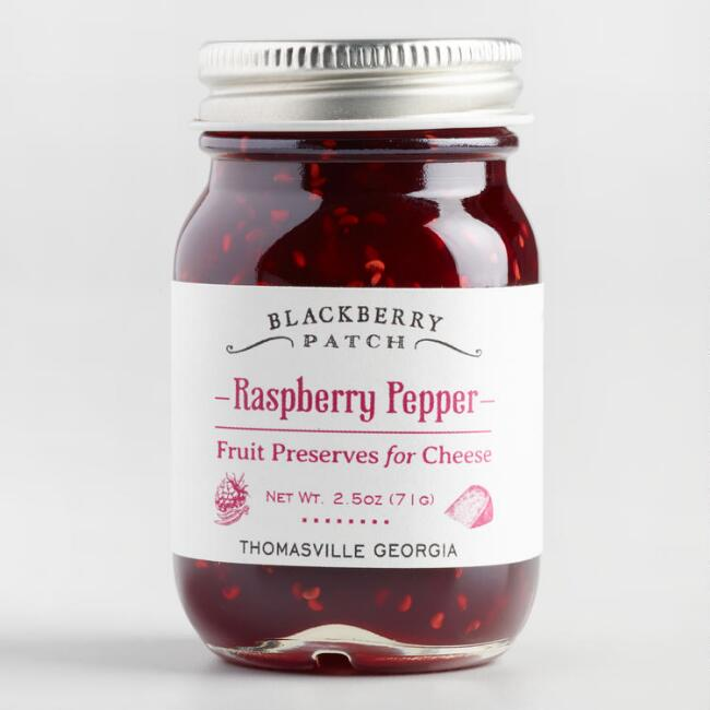 Blackberry Patch Mini Raspberry Pepper Preserves