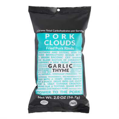 Pork Clouds Garlic Thyme Kettle Cooked Pork Rinds