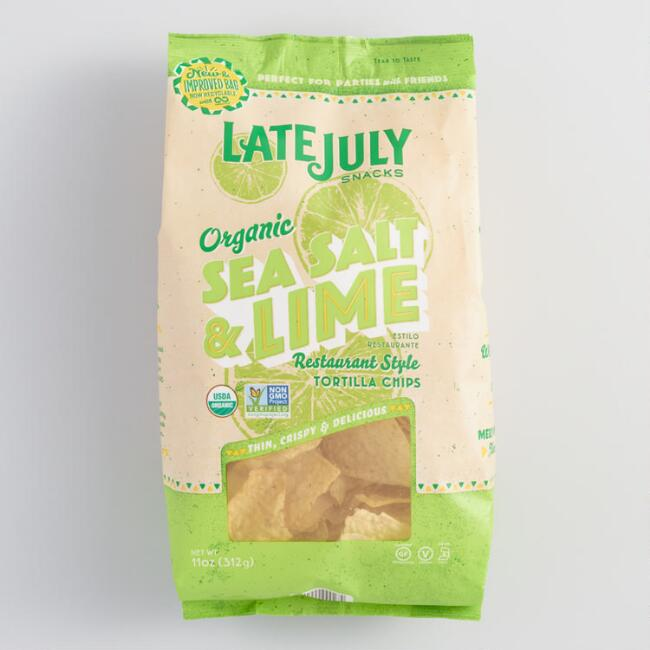 Late July Organic Sea Salt Lime Tortilla Chips
