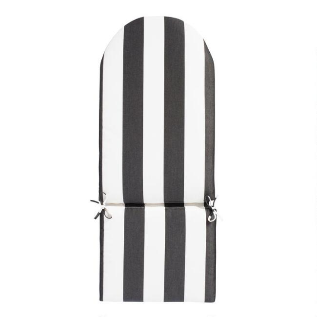 Sunbrella Cabana Stripe Adirondack Chair Cushion