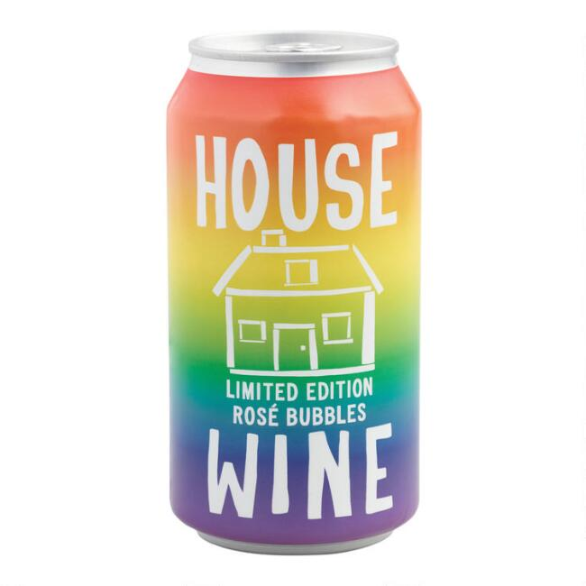 House Wine Sparkling Rosé 375ML Can