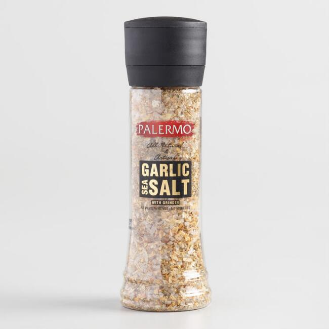 Palermo Garlic Sea Salt Grinder