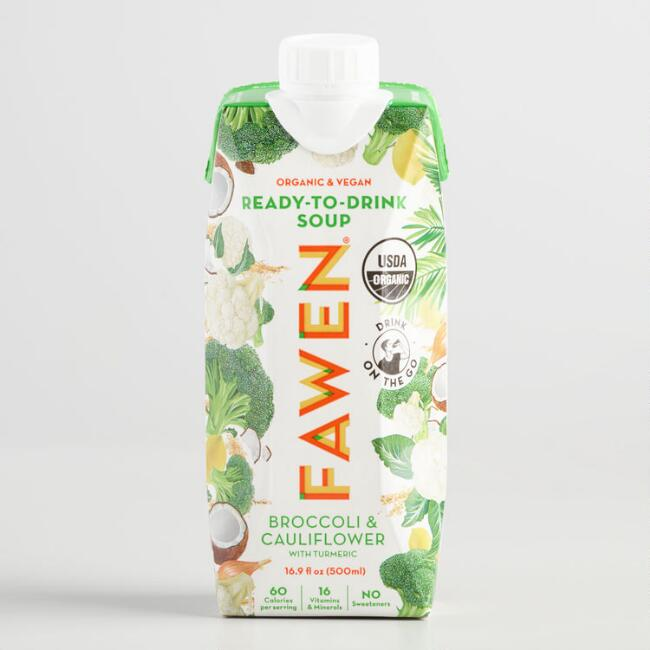 Fawen Ready to Drink Broccoli and Cauliflower Soup