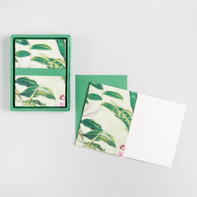 Floral Greenhouse Boxed Notecards Set of 8