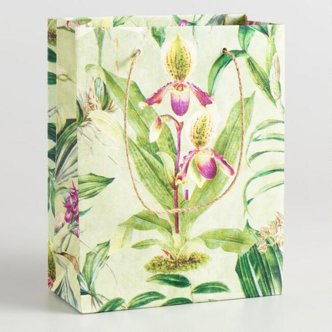 Large Floral Greenhouse Gift Bag