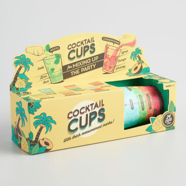 Cocktail Cups 24-Pack