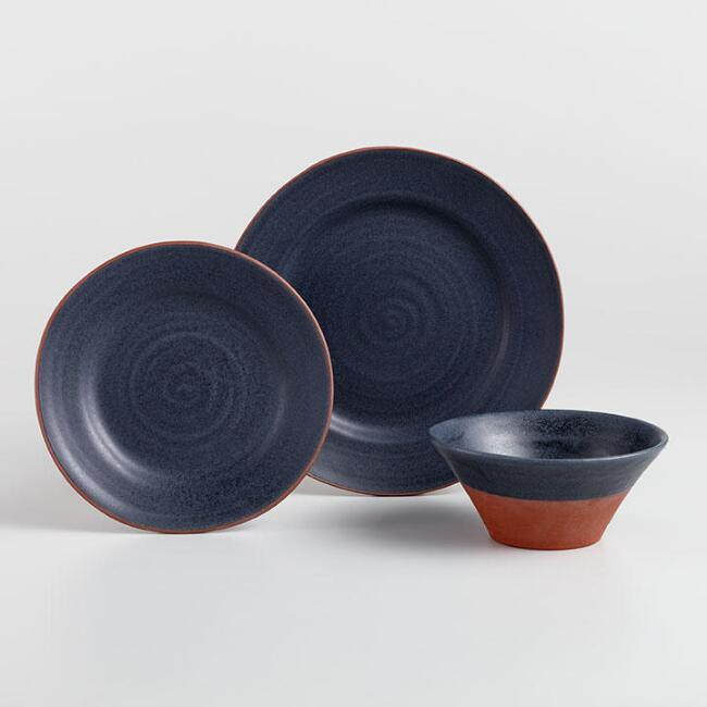 Charcoal Gray Sandro Dinnerware Collection