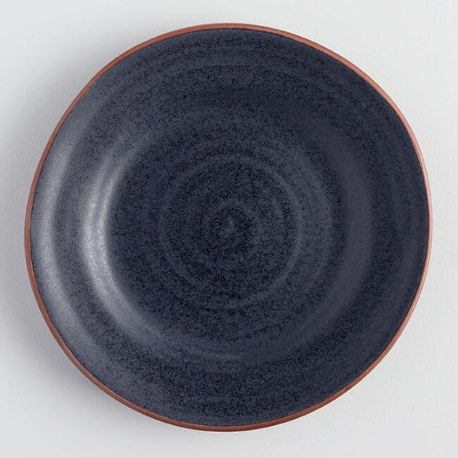 Charcoal Gray Sandro Salad Plates Set of 4