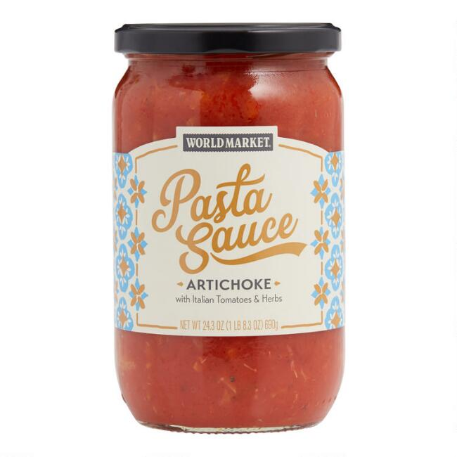 World Market® Tomato & Artichoke Pasta Sauce Set of 6