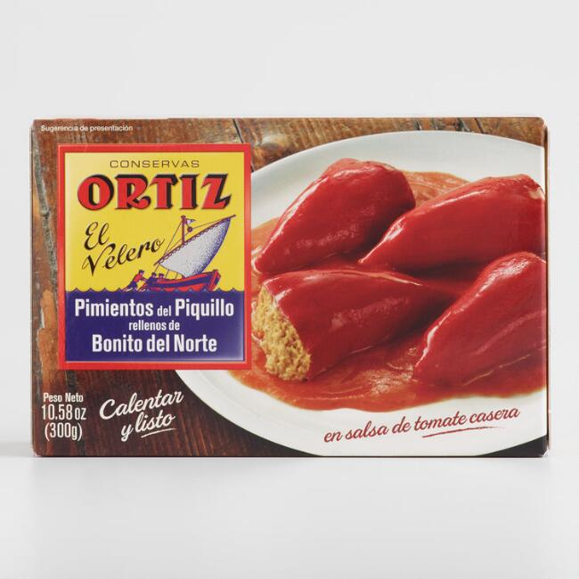Ortiz Piquillo Peppers with Tuna