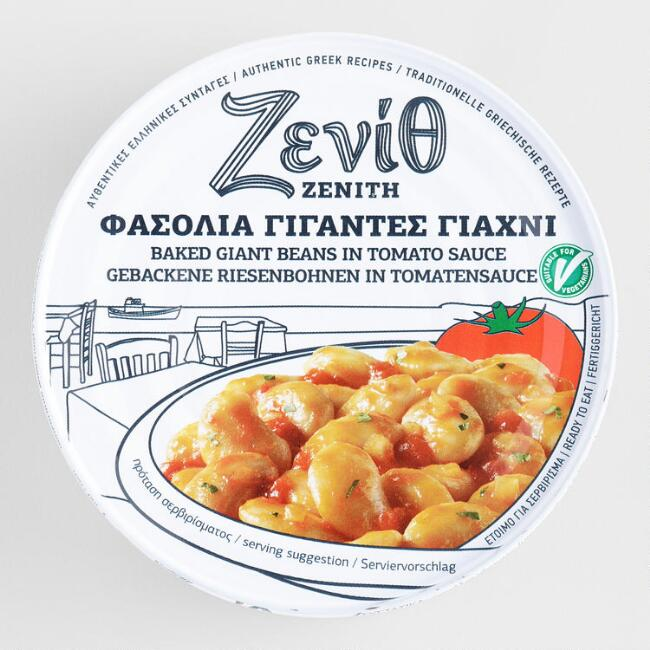 Zevio Baked White Beans in Tomato Sauce Set of 6
