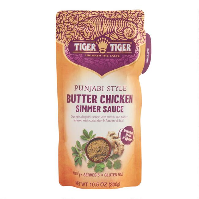 Tiger Tiger Butter Chicken Simmer Sauce Set of 6
