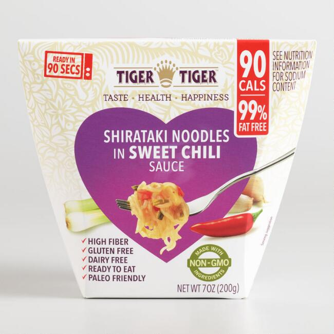 Tiger Tiger Shirataki Noodles in Sweet Chili Sauce Set of 5