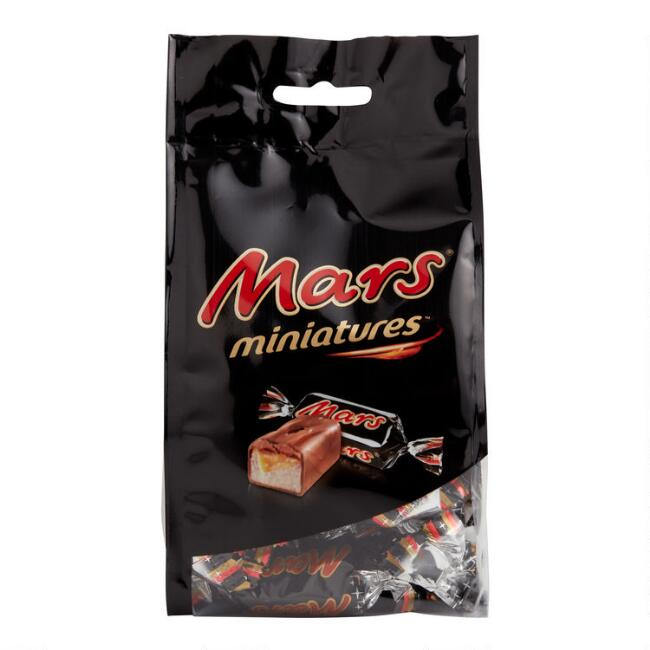 Mars Miniatures Chocolate Bars