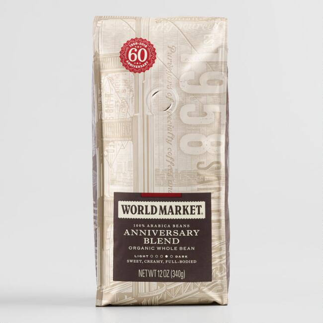 World Market® Organic 60th Anniversary Whole Bean Coffee