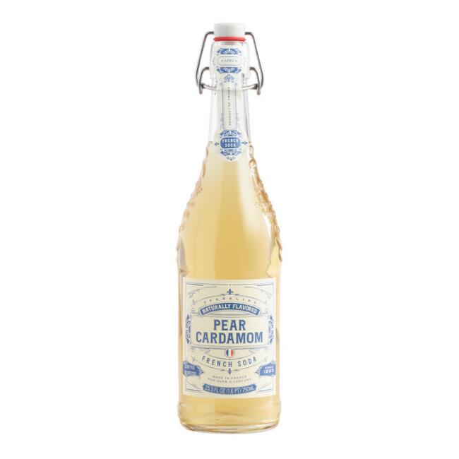 Sparkling Pear Cardamom French Soda