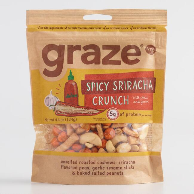 Graze Spicy Sriracha Crunch Snack Mix