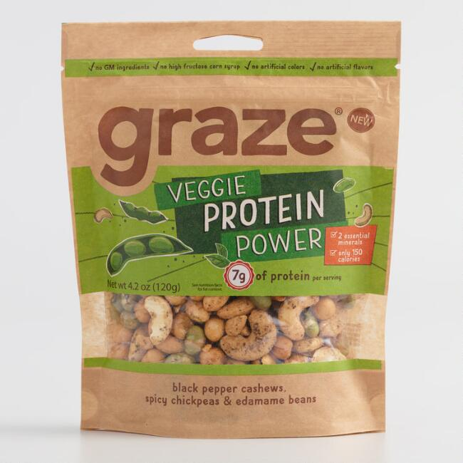 Graze Veggie Protein Powder Snack Mix