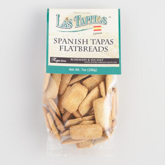Las Tapitas Rosemary and Sea Salt Spanish Tapas Flatbreads
