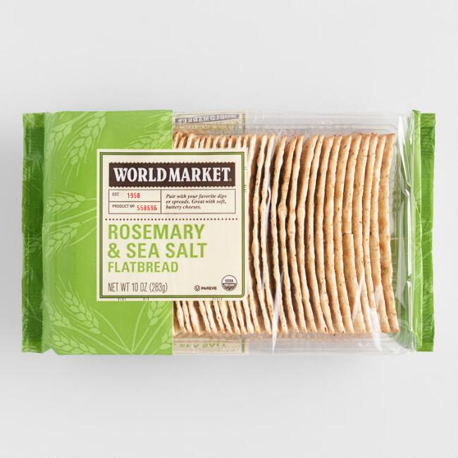 World Market Sea Salt and Rosemary Flatbread