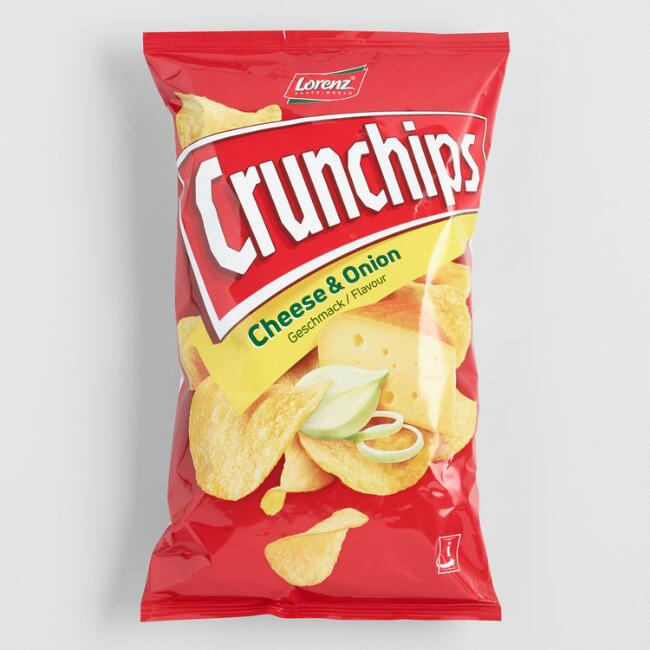 Lorenz Crunchips Cheese and Onion Potato Chips