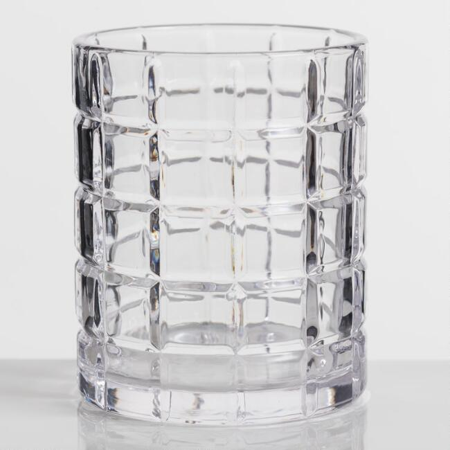 Grant Double Old Fashioned Glasses Set of 2