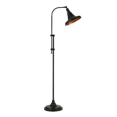 Dark Bronze Adjustable David Floor Lamp