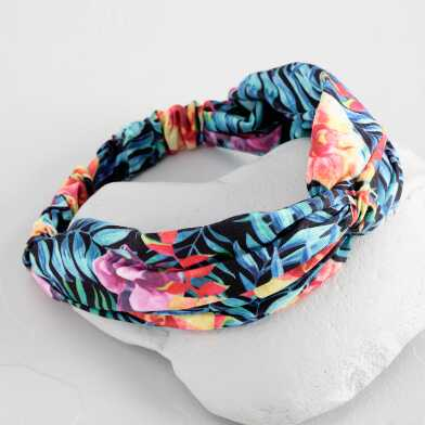 Multicolor Tropical Headband