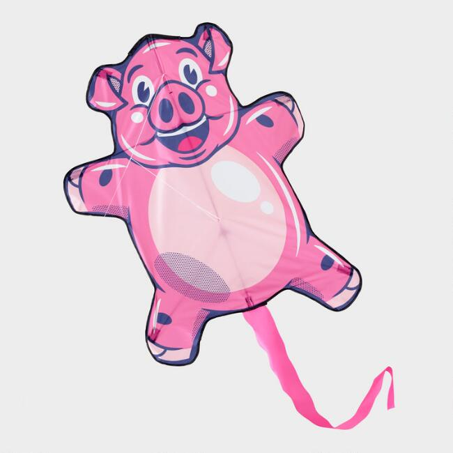 Giant Pink Pigs Will Fly Kite