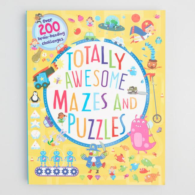 Totally Amazing Mazes and Puzzles Book