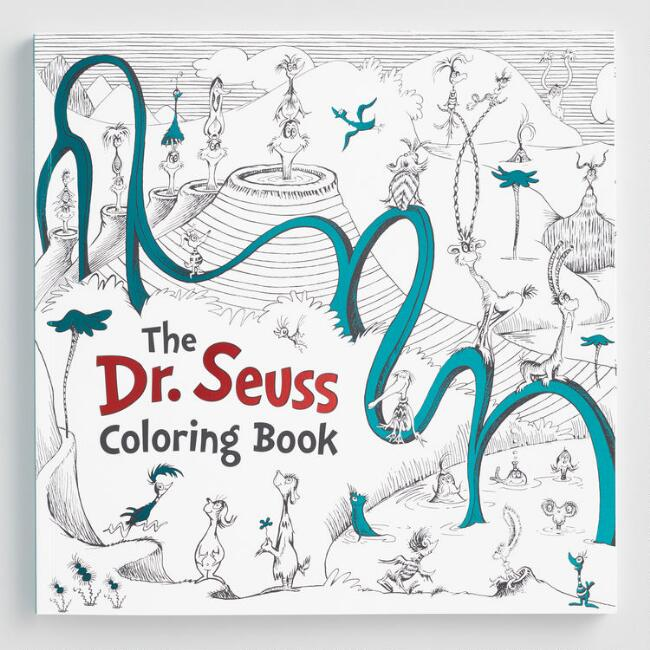 The Dr. Seuss Coloring Book | World Market