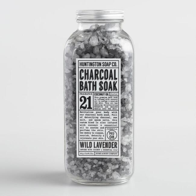 Huntington Wild Lavender Charcoal Bath Soak