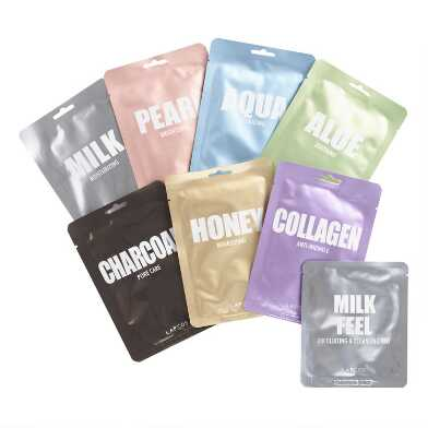 Lapcos Korean Beauty Sheet Masks Variety 7 Pack