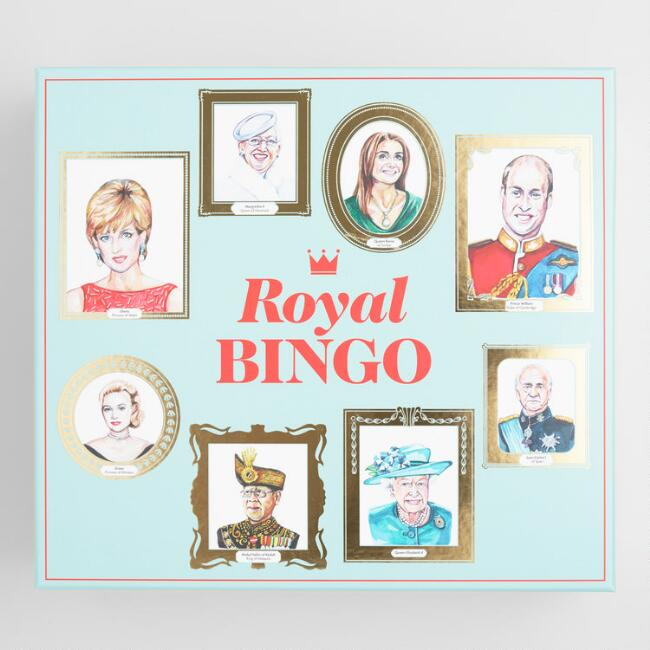 Royal Bingo Board Game