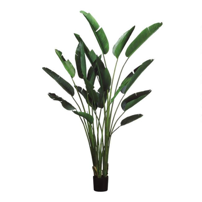 Large Faux Bird Of Paradise Plant