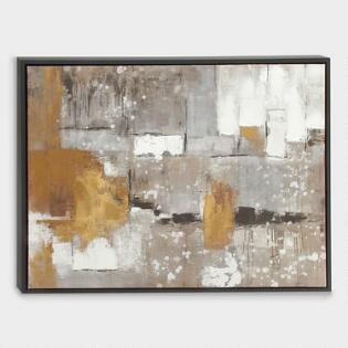 Vintage wall art large mirrors and unique picture frames world market contemporary abstract wall art in black frame teraionfo