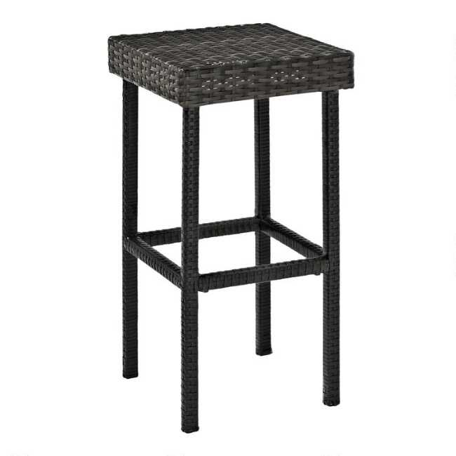 Super Gray All Weather Pinamar Outdoor Counter Stools Set Of 2 Unemploymentrelief Wooden Chair Designs For Living Room Unemploymentrelieforg